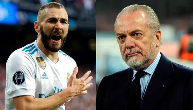 La dura respuesta de Benzema tras las críticas del presidente del Napoli
