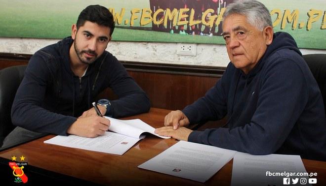 ¡Llegaron los goles! Tulio Etchemaite es nuevo jugador del Melgar