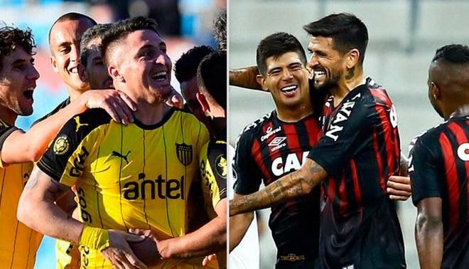 Resultado de imagen para atletico paranaense VS PEÃ'AROL