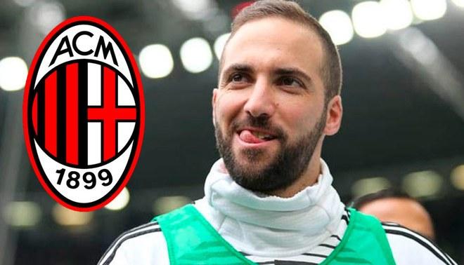 Serie A  Juventus acepta oferta del AC Milan por Gonzalo Higuaín ante la  llegada de Cristiano Ronaldo Creditos   Composición LÍBERO 21763b021b714