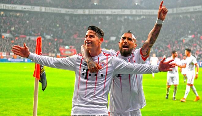 James Rodríguez se despidió de Vidal de la manera más emotiva [FOTO]