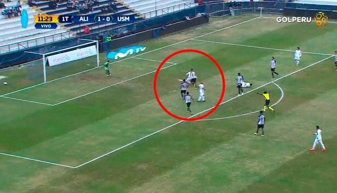 Alianza Lima vs San Martín: Christian Ortiz desperdició clara ocasión para el empate [VIDEO]