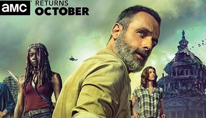 Se revela cuántos años pasarán en el salto del tiempo de la novena temporada de The Walking Dead