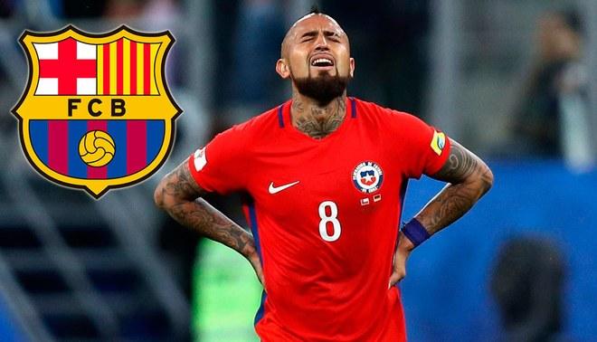 Barcelona en problemas tras fichar a Arturo Vidal, su DT tendrá que descartar a un jugador