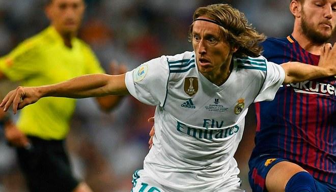 Luka Modric espera reunión con Florentino Pérez para definir su futuro