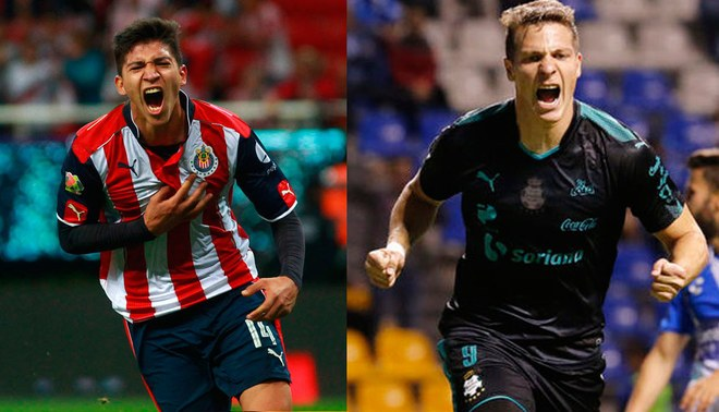 Chivas de Guadalajara vs Santos Laguna LIVE LIVE ONLINE via TELEVISA SPORTS UNIVISION CHANNEL OF THE STARS TDN with Ángel Zaldívar and Julio Furch for day 4 of the Liga Mx