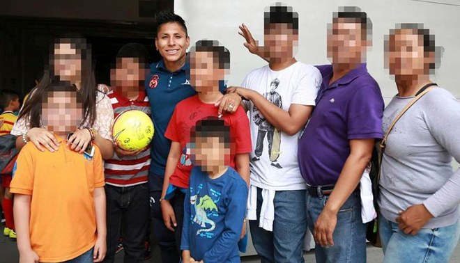 Facebook: Raúl Ruidíaz and his noble gesture with kidnap victims in Mexico