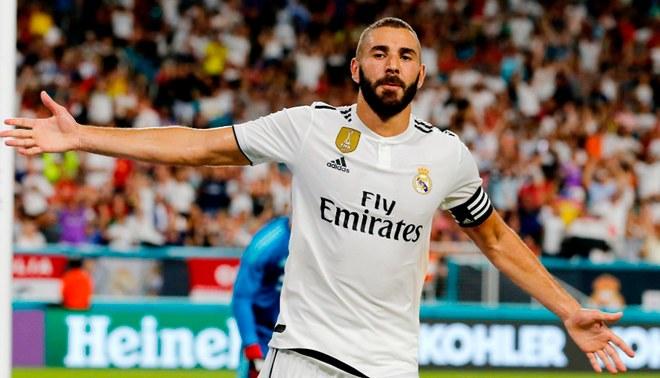 Karim Benzema advierte al Atlético Madrid por la Supercopa de Europa