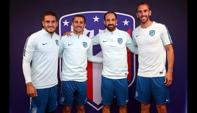 Atlético Madrid tendrá nuevos capitanes. Mira quién llevará la cinta mañana ante el Real Madrid
