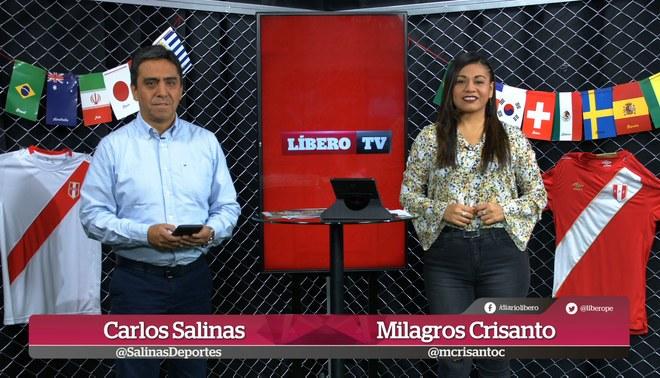LíberoTV: Benavente está seguro de volver a Perú