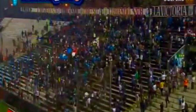 Alianza Lima vs UTC: Gas pimienta demoró el inicio del partido [VIDEO]