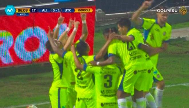 ¡Enmudeció Matute! Donald Millán anotó 1-0 de UTC ante Alianza Lima