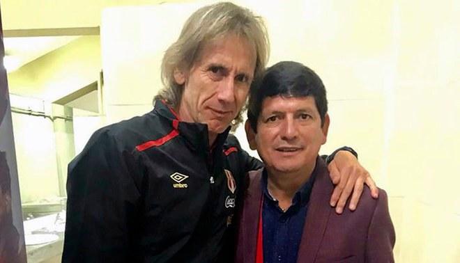 """Agustín Lozano: """"Ricardo Gareca es muy inteligente, nos clasificará a Qatar 2022"""""""