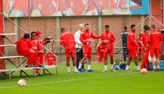 Postales del segundo día de entrenamiento de la selección peruana en La Videna [FOTOS]