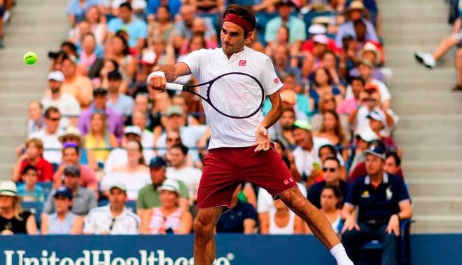 US Open: Roger Federer avanzó a octavos y podría chocar con Novak Djokovic en cuartos
