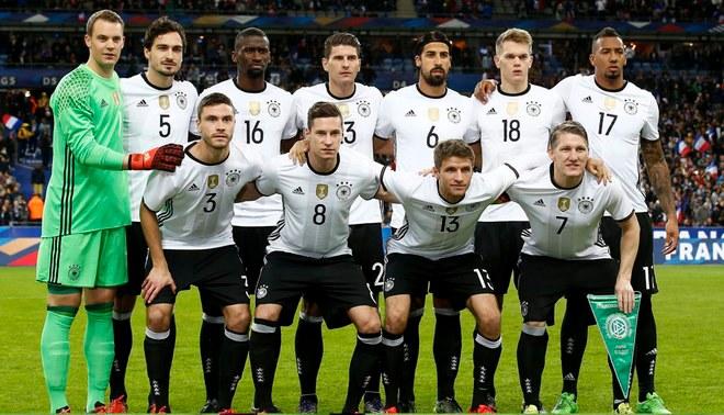 Alemania confirma su primera baja para el partido con La Blanquirroja