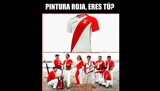 Los divertidos memes de la nueva camiseta de la selección peruana [FOTOS]