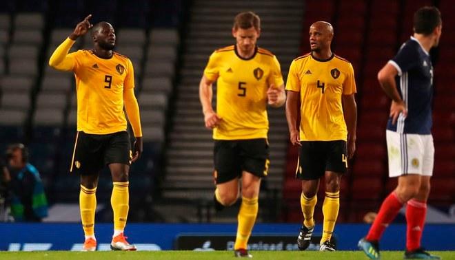 Bélgica aplastó 4-0 a Escocia en amistoso por fecha FIFA [VIDEO]