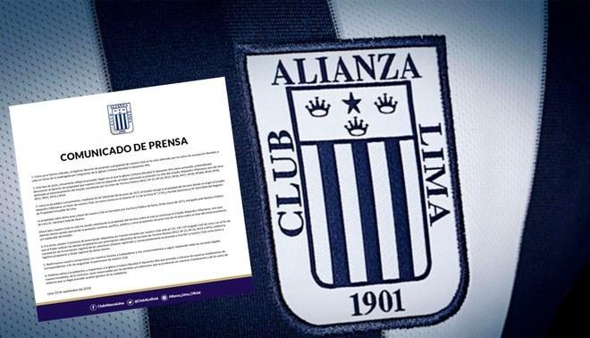 Alianza Lima emitió comunicado oficial por toma del Estadio Matute [FOTO]