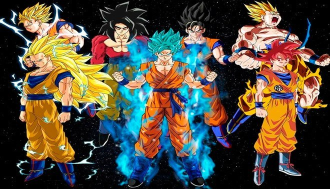 Las 22 Transformaciones De Goku En Dragon Ball: By Azu Anime T Goku Dragon Ball And Dragon