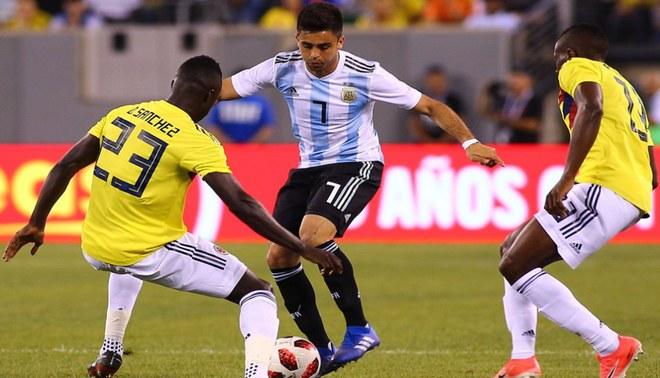 Argentina vs Colombia: 'Gauchos' empataron 0 - 0 ante 'cafeteros' en amistoso FIFA  [VIDEO]