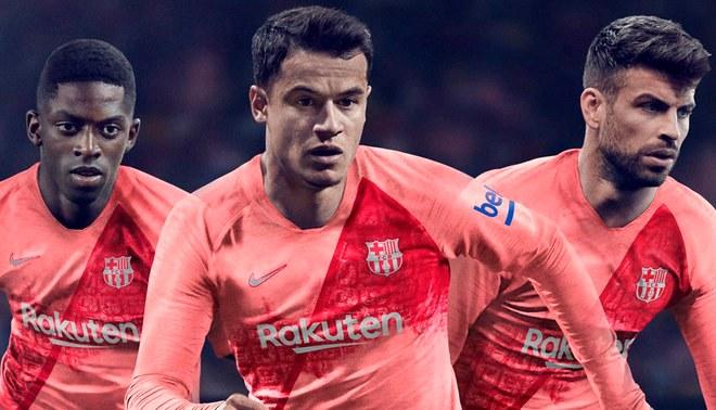 aec26b9c Barcelona presenta su tercera camiseta para la temporada 2018/2019 | Liga  Santander | Video | Fotos. Creditos : Barcelona