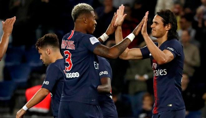 En Vivo Con Gol De Cavani El Psg Vence   Al Saint Etienne Por La Fecha  De La Ligue