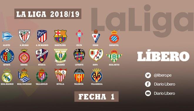 Liga Española EN VIVO ONLINE: Programación, día, hora, canal