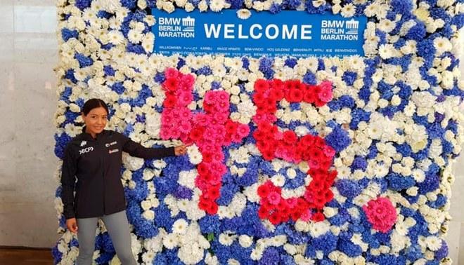 Inés Melchor competirá este domingo en la Maratón de Berlín