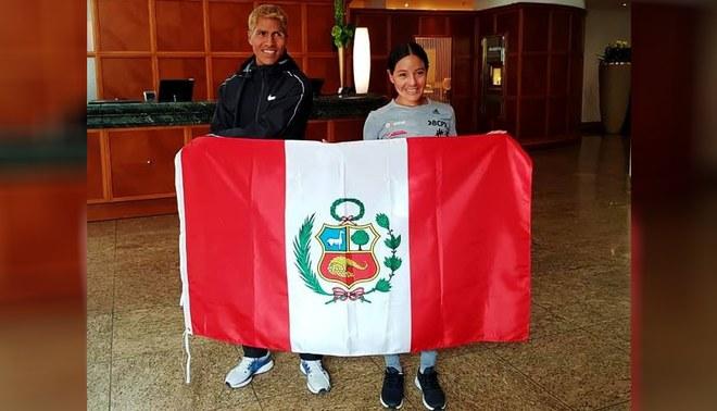 Inés Melchor y Wily Canchanya sacan cara por Perú en Maratón de Berlín [VIDEO]