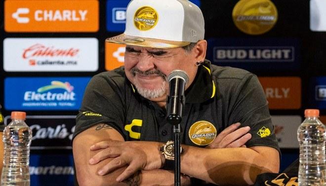 ¿De qué se alimenta Diego Armando Maradona en Dorados de Sinaloa? [VIDEO]