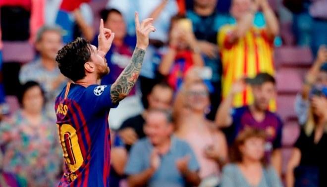 Barcelona vs PSV: Primer doblete de Lionel Messi en la UEFA Champions League [VIDEO]