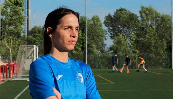 Alba Palacios es la primera futbolista transgénero española [FOTOS Y VIDEO]