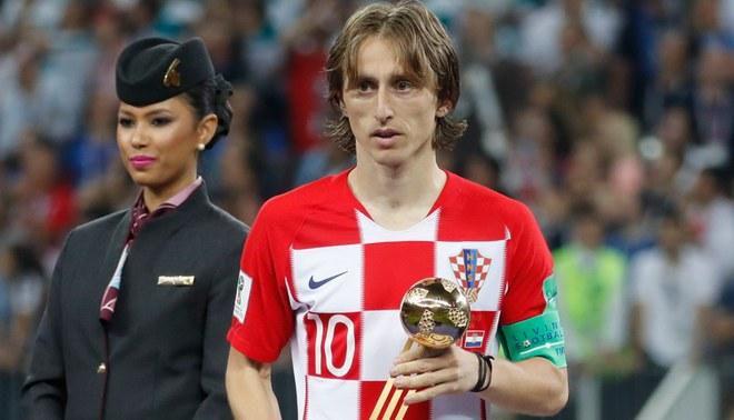 Luka Modric ganó el premio al Mejor Jugador superando a Cristiano Ronaldo y Mohamed Salah