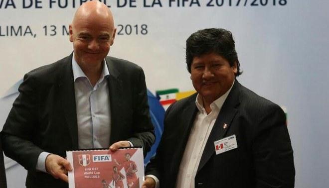 """FIFA desliza una """"eventual suspensión"""" de la FPF en caso se deroge la Ley de Fortalecimiento"""