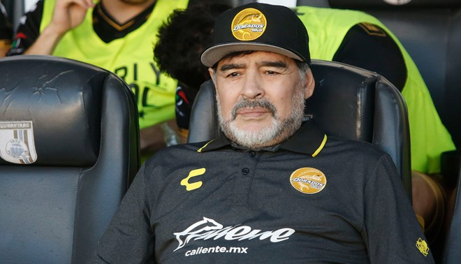 Diego Armando Maradona y la dura crítica al técnico de la selección argentina