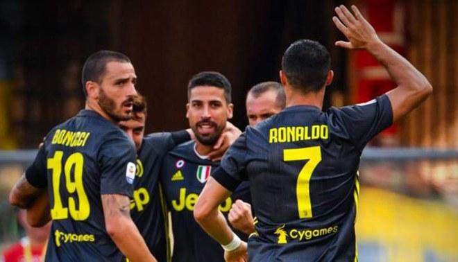 Juventus con dos importantes elementos lesionados de su plantilla ¿uno es Cristiano Ronaldo?
