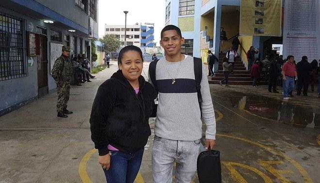 Kevin Quevedo ejerció voto responsable y de inmediato se integró a la concentración de Alianza Lima [VIDEO]