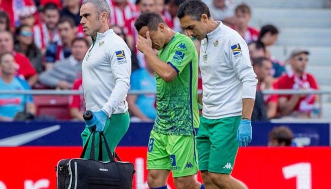 Andrés Guardado sufre rotura muscular en el isquiotibial izquierdo