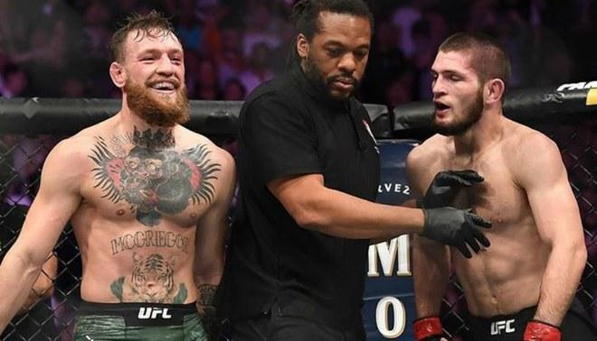 Resultado de imagen para pelea Conor McGregor y Khabib Nurmagomedov