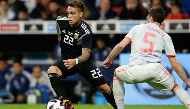 Argentina 1-0 Irak: Lautaro Martínez pone el primero de la albiceleste  [VIDEO]