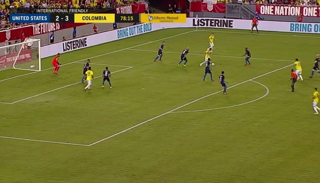 Colombia vs Estados Unidos: Miguel Borja anotó golazo de 'tijera' [VIDEO]