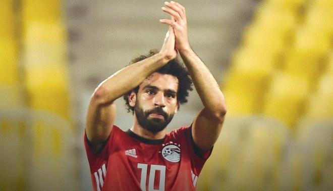 Mohamed Salah y su gol olímpico en triunfo de Egipto por la clasificación a la Copa Africana de Naciones [VIDEO]