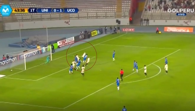 Universitario vs Unión Comercio: Werner Schuler anota el 1-1 de los cremas [VIDEO]