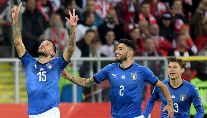 Gol agónico de Italia para vencer a Polonia por la Liga de Naciones UEFA [VIDEO]