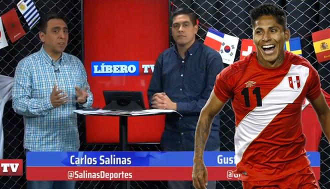 ¿Jugó bien Ruidiaz en el Perú vs Chile?, así lo analiza Líbero TV