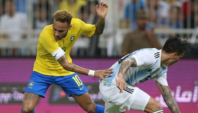 Brasil ganó a Argentina en amistoso FIFA por el Clásico de Sudamérica.