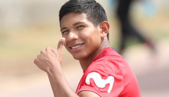 Edison Flores celebra su gol con la Selección Peruana con emotivo mensaje