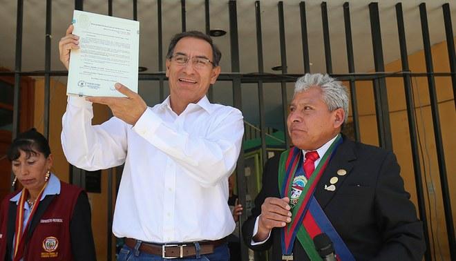 Presidente Martín Vizcarra declaró de interés nacional organización del Mundial Sub 17 en Perú