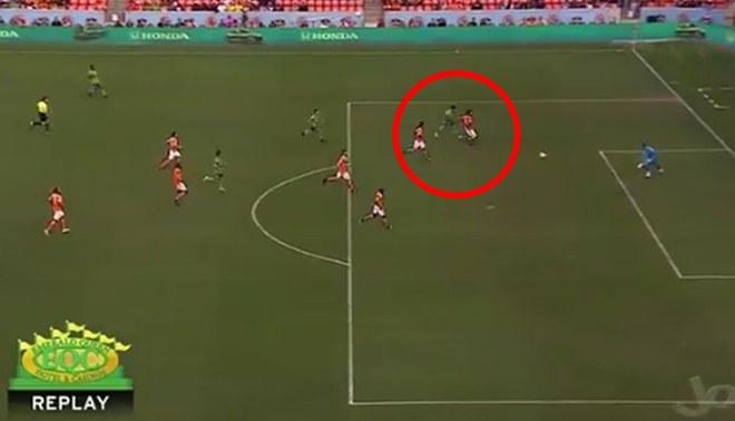 Raúl Ruidíaz volvió a anotar con Seattle Sounders y registró su octavo gol en la MLS [VIDEO]